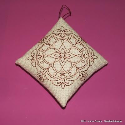 Byrd's Nest: Diamond Ornament Tutorial