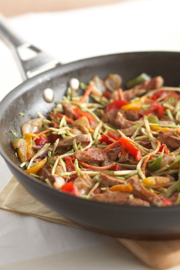 Rush-Hour Pork Stir-Fry – Every busy parent's dream come true: a pork tenderloin stir-fry recipe that's full of flavor and veggies—and ready in less than 25 minutes.