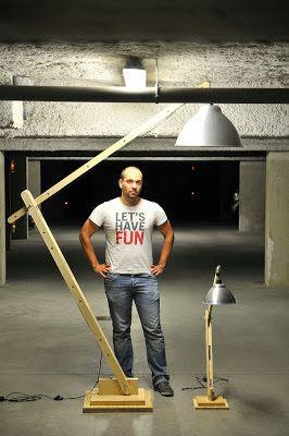 La menuiserie 503: Les lampes d'architecte en bois