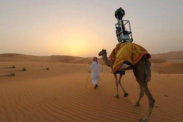 wirtualny spacer po pustyni