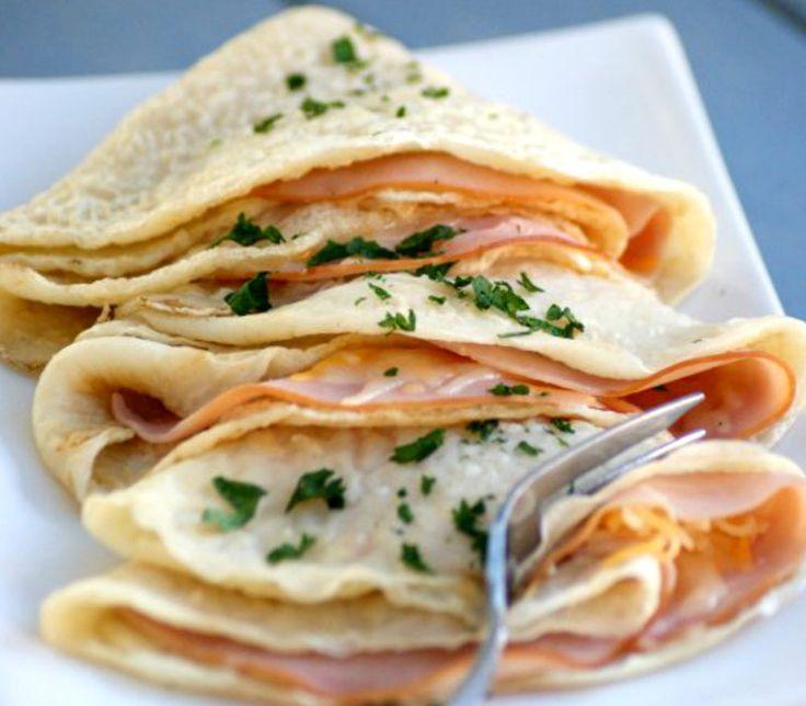 Φτιάξε εύκολα τις πιο νόστιμες κρέπες με τυρί και ζαμπόν