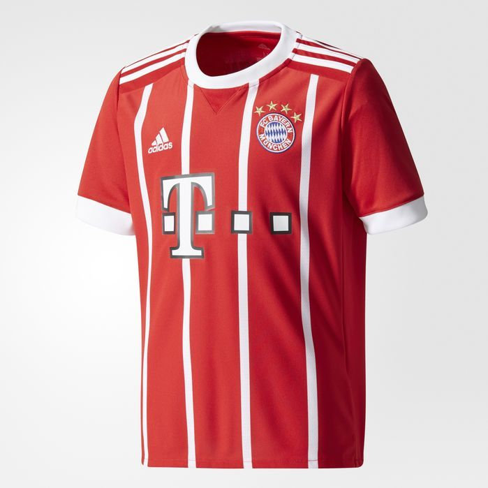 adidas FC Bayern Munich Home Replica Jersey - Kids Soccer Jerseys