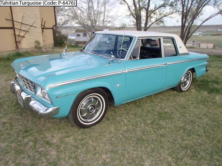 INFO GUIDE 1965 Studebaker Daytona 2 Door Sports Sedan