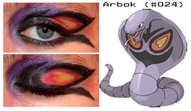 Pocket Monster Peepers: Pokemon Inspired Eye Makeup
