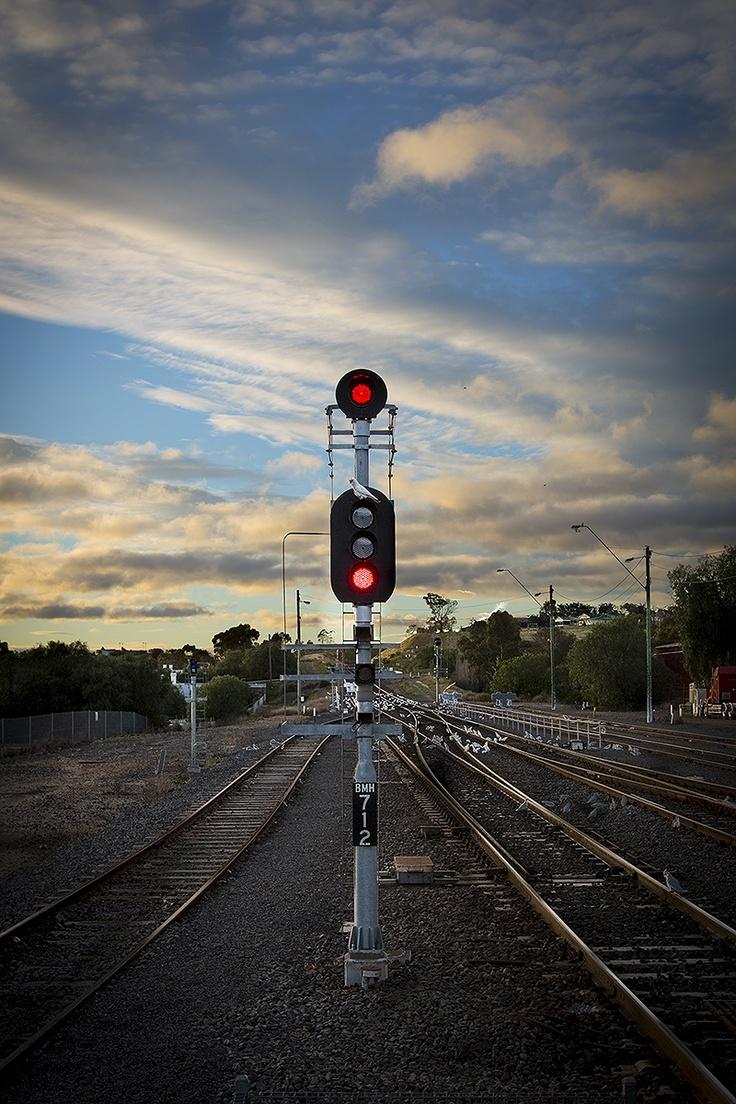 Signal at Bacchus Marsh train station