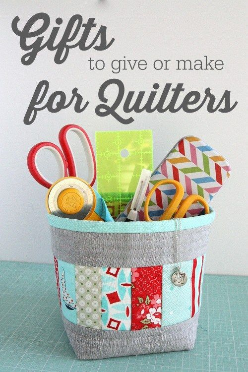 318 best sew it gifts images on pinterest sewing ideas 50 gifts to buy or make for quilters negle Image collections