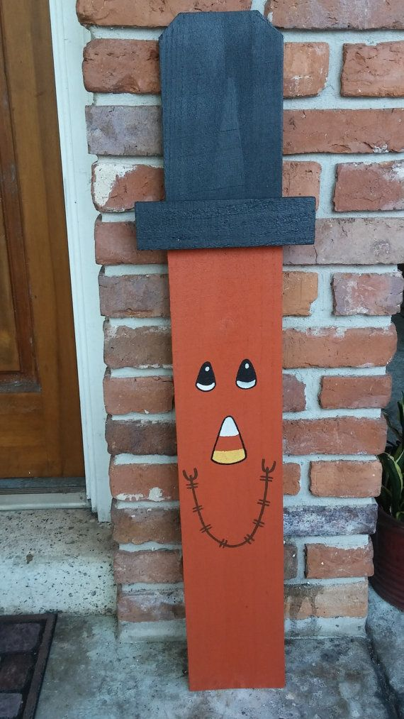 Wooden scarecrow by tntwoodworkz on etsy projecten van for Crafts made out of pallets