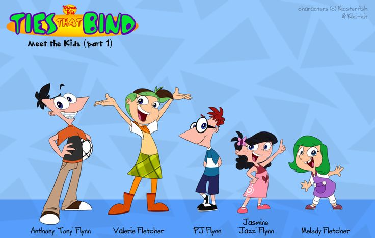 PnF:+Ties+That+Bind+Kids+(1+of+3)+by+KicsterAsh.deviantart.com+on+@DeviantArt