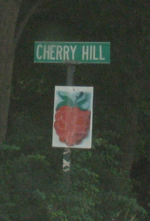 Cherry Hill road sign. #PYO #Springfield #Vermont #VT