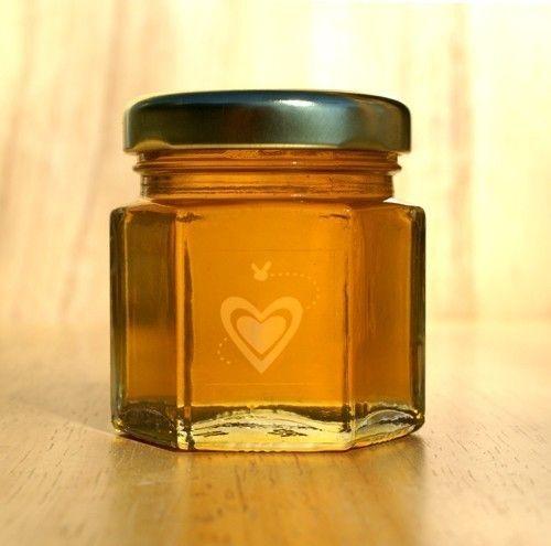 Honey Favors for Weddings, Bridal Showers, Baby Showers, Birthdays, Anniversaries Box of 24 - 2oz. Honey Jars