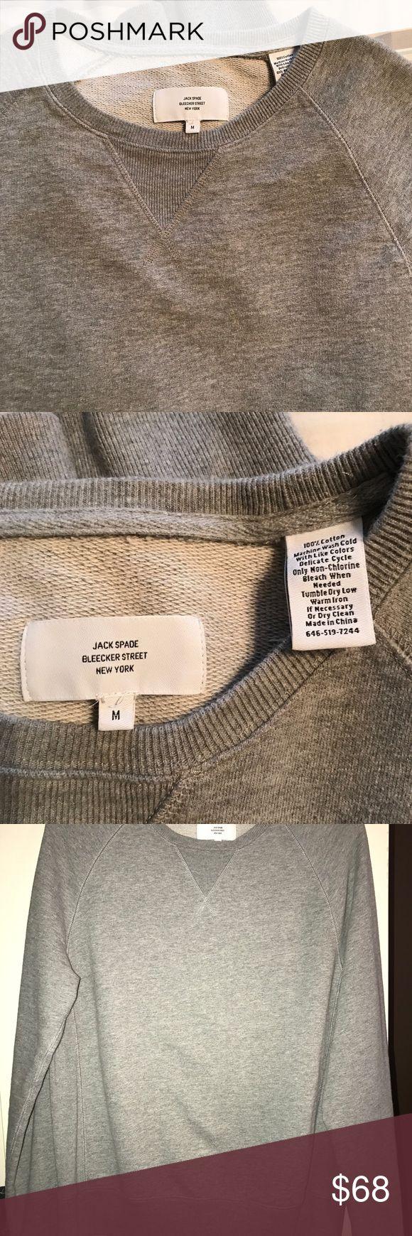 Jack Spade Sweatshirt Medium Jack Spade Sweatshirt. Medium. Worn once, and not to the gym 😉 Jack Spade Sweaters