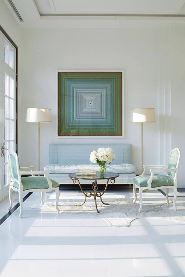 Blue Veranda Magazine Home Living Rooms Pinterest