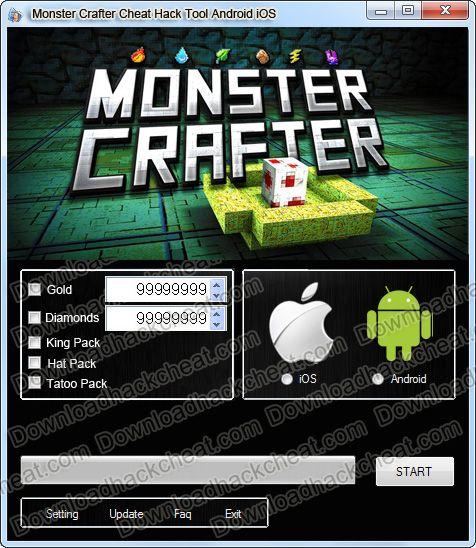 Men or monster hacked