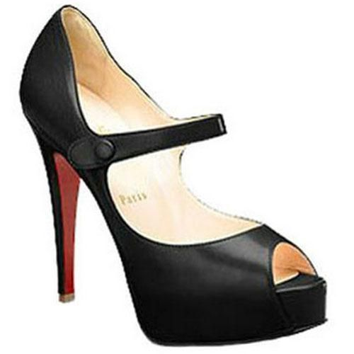 Perfect Christian Louboutin No Barre 140mm Mary Jane Pumps Black, Perfect You