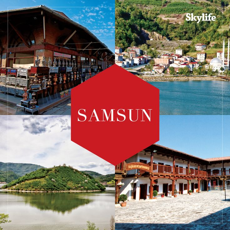 Samsun, the face of Nordic beauty in Turkey, is the new star of travel world!
