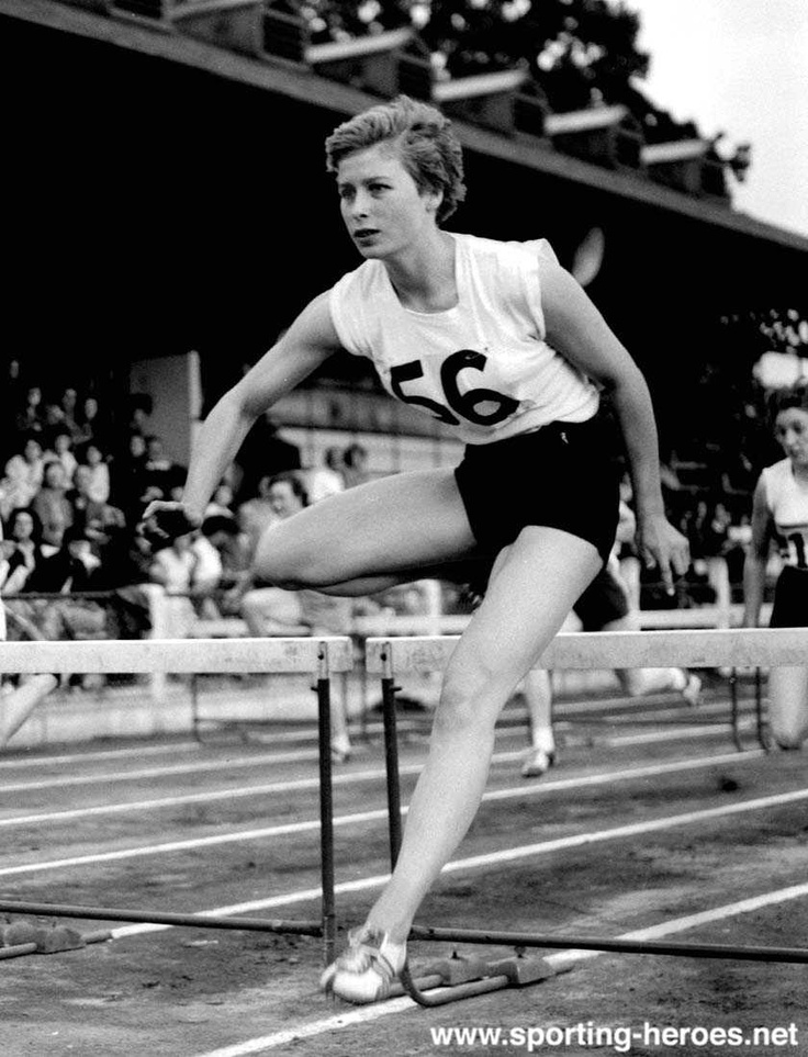 Mary Rand, 1950's British Olympic athlete