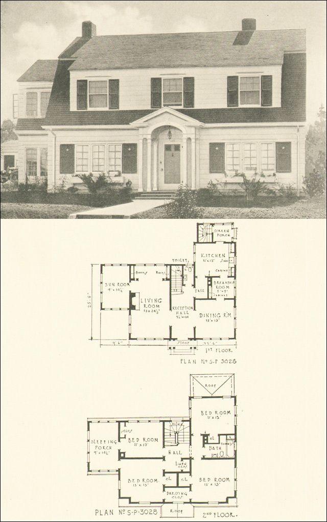 Architecture House Blueprints 298 best houseplans images on pinterest | vintage houses, house