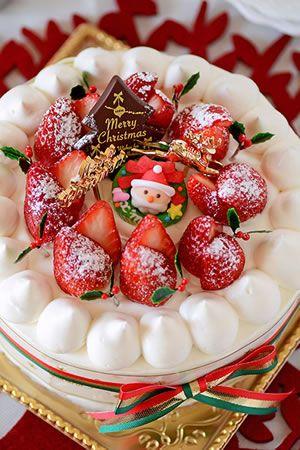 ママが作るスペシャルクリスマスケーキ|JUNAっちの食卓へようこそ!【cotta*コッタ】通販サイト