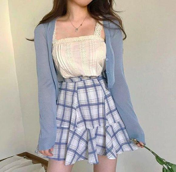 Korean Fashion|Calming Blue @oliwiasierotnik