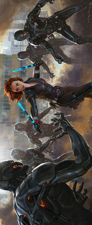 Black Widow Concept Art