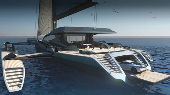 Largest trimaran in the world!