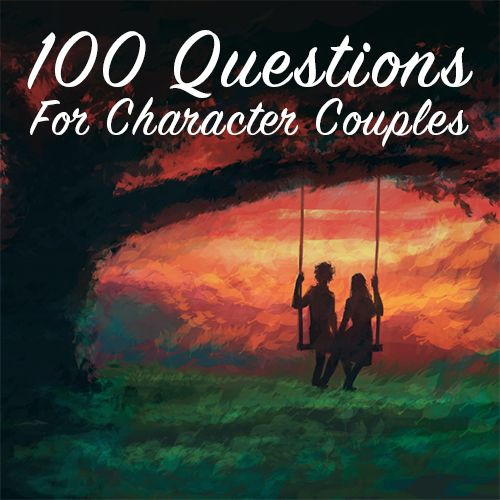 These questions can help you flesh out your WIP's relationships, find hidden details to use in your tale, and discover more about your characters.