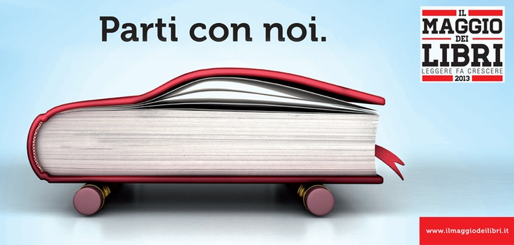 Poste Italiane sostiene Il Maggio dei l'ibri l'iniziativa che mira a portare i libri fuori dal loro contesto abituale per far scoprire a tutti il piacere della lettura.