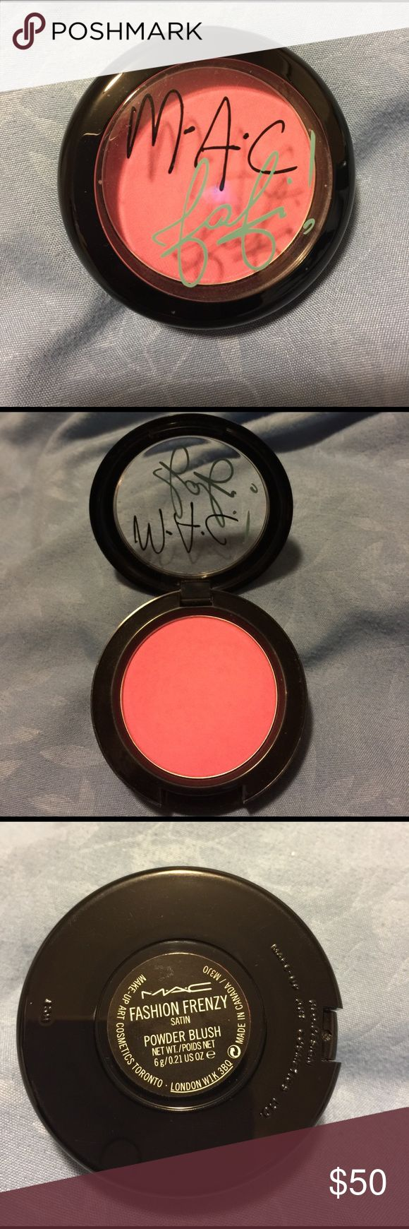 Like new! Rare MAC Fafi fashion frenzy blush Blush
