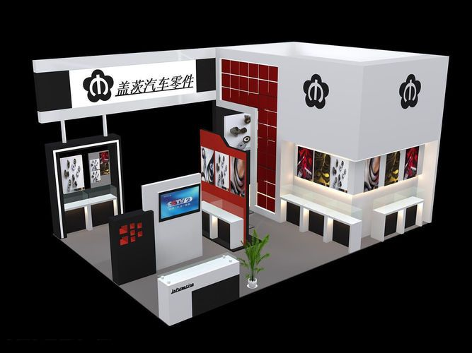 Exhibition Booth Open : Best images about exhibition stand side open on
