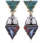 Anton Heunis Women Art Deco Expression Earrings