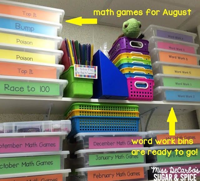 End of the Year Organization: Tips & Tricks! - Miss DeCarbo