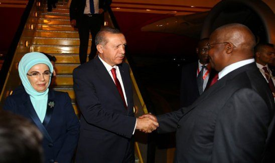 Cumhurbaşkanı Erdoğan Uganda'da