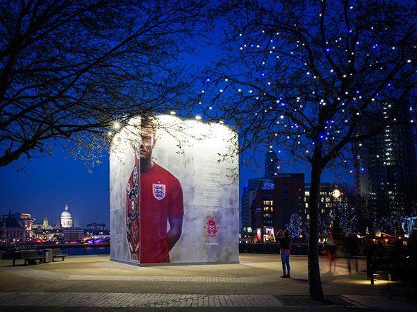 Nike Football: England Kit Launch Southbank on Behance