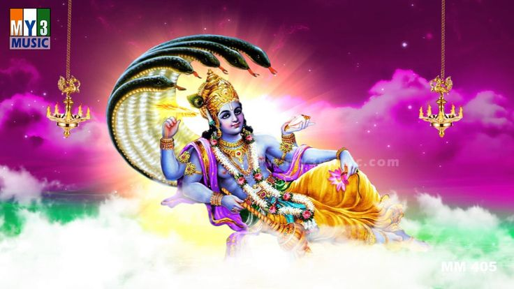 Vishnu Sahasranamam Full - Lord Vishnu Mantra - The Thousand & Eight Nam...