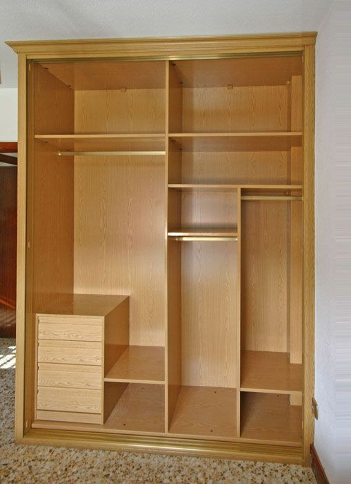 Best 25 roperos empotrados ideas on pinterest muebles for Armarios roperos