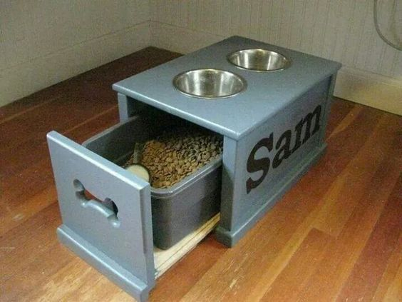 Kitchen Waste Basket Holder: 17 Best Ideas About Dog Food Bin On Pinterest