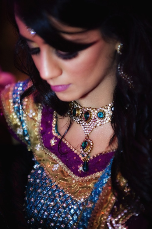Indian Fashion - jewel tones all together = beautiful!