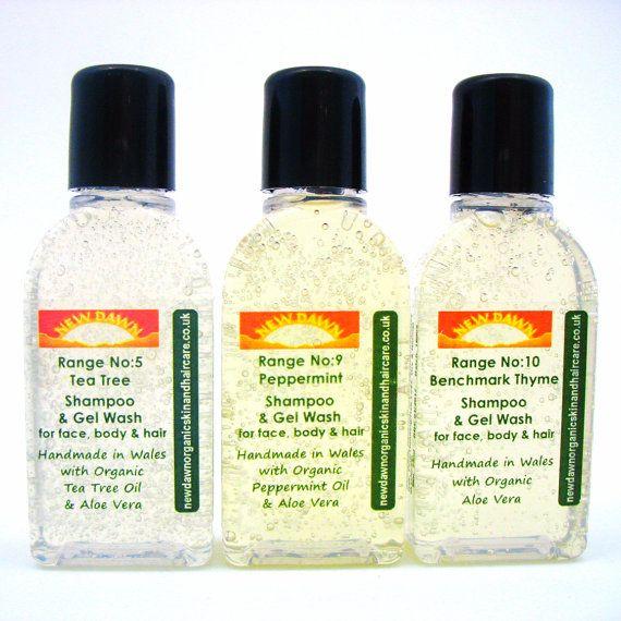 Head Lice Shampoo Sample Pack  Natural by NewDawnOrganicSkin