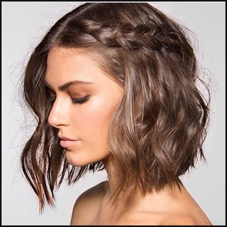 Frisuren Mittellang Feines Haar Rundes Gesicht Neue Haare Trends Einfache Frisuren Short Hair Styles Hair Styles Braids For Short Hair