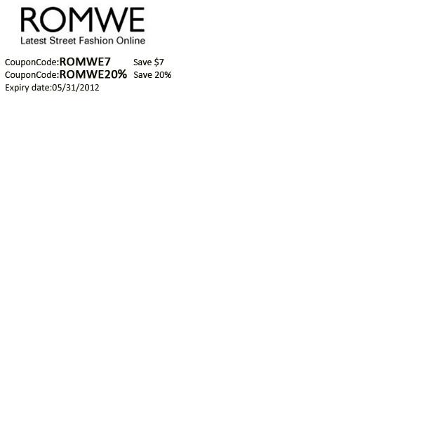 romwe promotions     romwe.comPromotion Romwecom