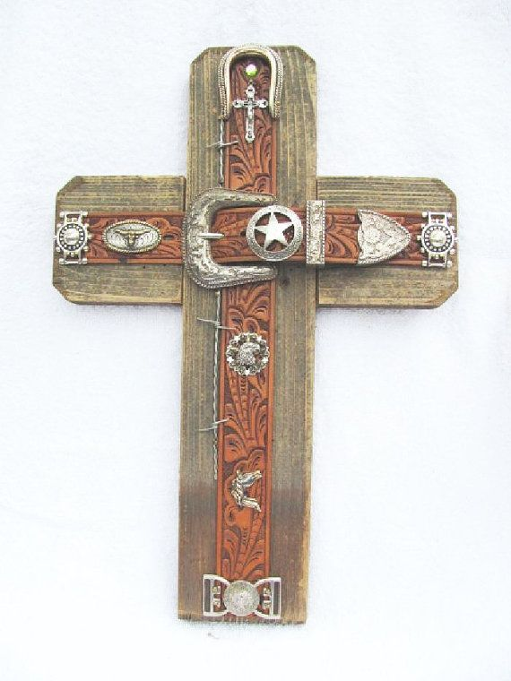 This handcrafted western cross is awesome. It can go on any wall in the house, in the living room, dining room, bedroom or just down the hall......Need