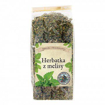 HERBATKA Z MELISY - Produkty Benedyktyńskie    Herbatka z melisy najbardziej znana jest ze swoich właściwości uspokajających. Nie od dzisiaj napar z melisy pomaga w zasypianiu i łagodzi objawy stanów depresyjnych....