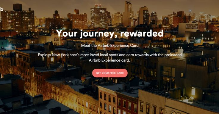Airbnb Working On 'Experience Card': Preloaded $1K MasterCard + Rewards Program
