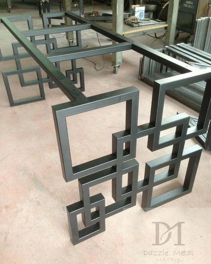 Metal Table Tablesetting Metalfurniture Metal Designershome