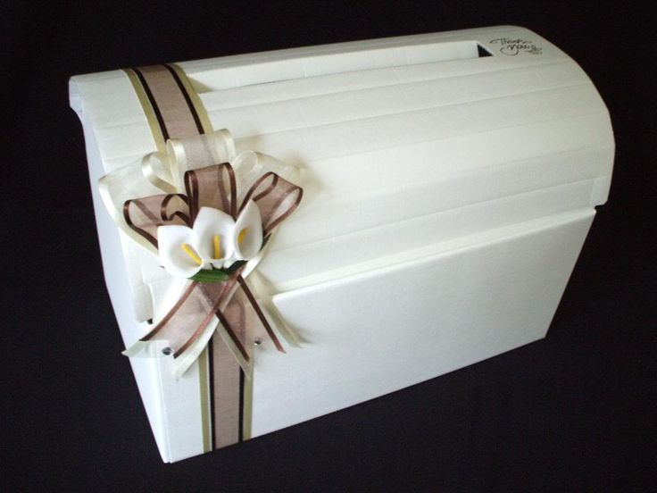 Large Handmade Wedding Chest Card Post Box Wishing Well Lilly Reception Venue