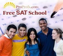 ProProfs Online Free SAT Exam Study Center is the most comprehensive collection of free SAT study resources on the web. The site offers practice exams, study guides, flashcards, quizzes, cram sheets, articles, links, and tips to help students succeed on the SAT exam.