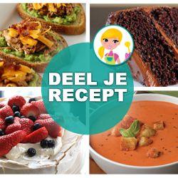 receptenbundel makkelijke recepten zoeken en gratis proefmonsters. o.a. gezonde, pannenkoek en cake en taart en vegetarische etc etc.