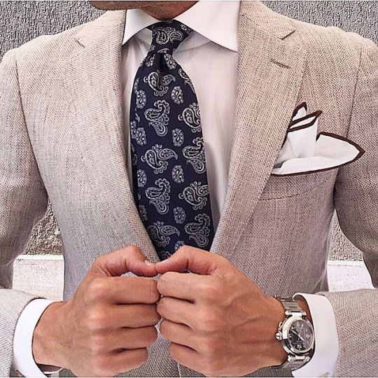 Summer Elegance - TieOfTheDay.com