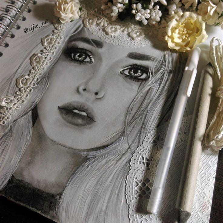 http://www.yanathedreamer.blogspot.com/The #portrait of #beautiful russian model