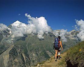 HIKE OPTION 2: Swiss Tour Monte Rosa - Schweiz Mobil - Wanderland- 3 days